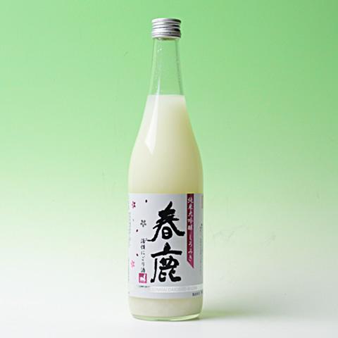 2017しろみき春鹿 純米大吟醸「活性にごり生酒」しろみき720ml
