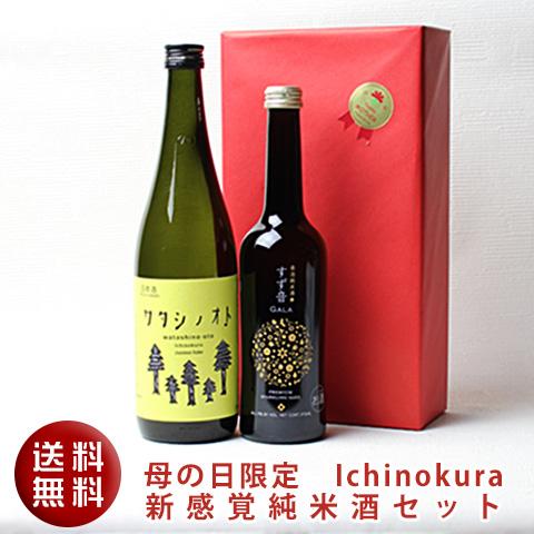 母の日限定一ノ蔵新感覚純米酒セット