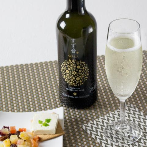 一ノ蔵 スパークリング日本酒 すず音GALA(ガラ) 375ml