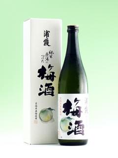 浦霞の梅酒
