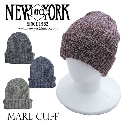 ニューヨークハット マールルカフ ニット帽