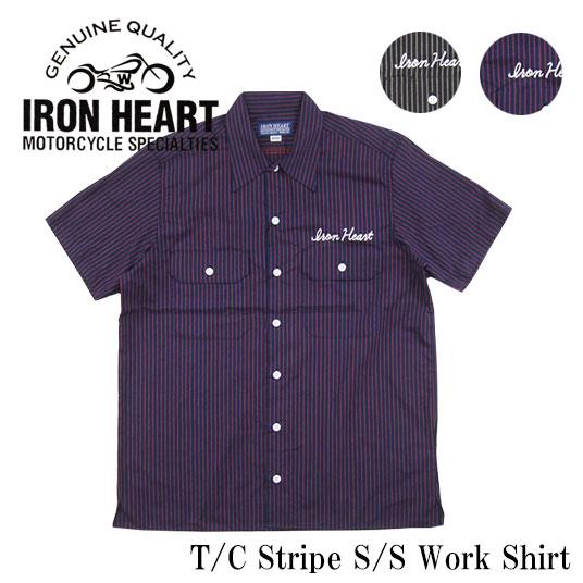 アイアンハート 半袖ワークシャツ