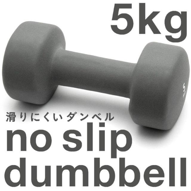 La-VIE(ラ・ヴィ) ノースリップダンベル 5kg