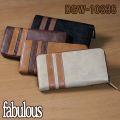 fabulous(ファビュラス) MOVE DGW-10338(ラウンド長札財布)
