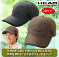 ヘッド ツイードキャップ同サイズ2色組 / HEAD
