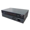 PoE対応L2スイッチ 10/100/1000M 16ポート マネジメント PS1602GM