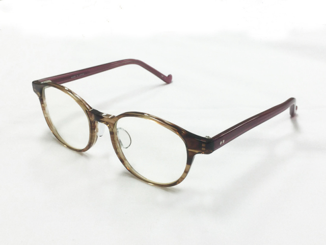 iroum by JUJUBEE 1981-1 sango 珊瑚 さんご 【JUJUBEEオリジナル アイウェア】日本製
