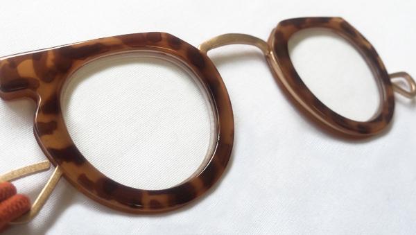 【予約販売受付中!!】 Ciqi Peep Glass Brown / シキ ピープグラス ブラウン 【ローネット】【ルーペ】【アクセサリー】