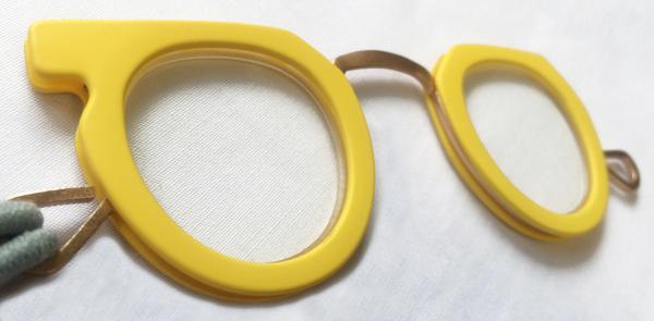 【予約販売受付中!!】 Ciqi Peep Glass Yellow / シキ ピープグラス イエロー 【ローネット】【ルーペ】【アクセサリー】