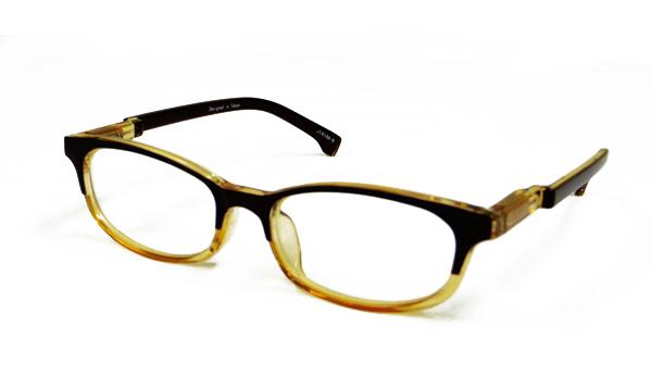 JUJUBEE LOUGAN'S Pete PC HALF BROWN /ピートPC ハーフブラウン 【ジュジュビーの老眼鏡ブランド】
