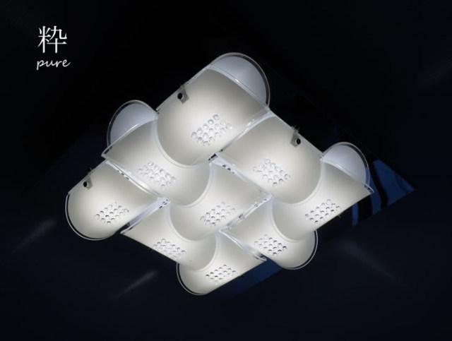 シーリングライト DYKC011 (間接照明 ペンダントライト インテリアライト 天井照明 北欧)