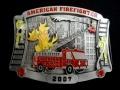 バックル SKAFF2007E  American Fire Fighter 2007 Limited Edition Buckle シリアルナンバー入り