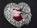 ネイティブ  SKE2DE Heart Rose and Leaf Border