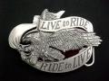 バックル バイカー SKR37E Live to Ride
