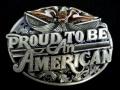 バックル SKT85E Proud to Be An American