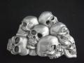 バックル バイカー スカル SKQ8BE  Skulls - Black