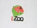 iZooオリジナルステッカー