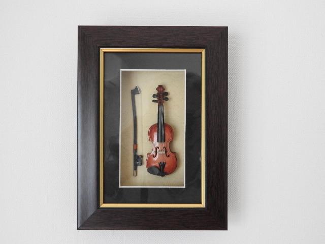 額縁バイオリン  9cm