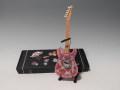 ミニチュ楽器 Axe Heaven フェンダー・テレキャスター  Pink Paisley t  FT-005