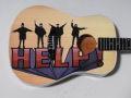 ミニチュア楽器 Axe Heaven HELP!  ミニギター FF-003