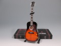 ミニチュ楽器 Axe Heaven  AC-002 Vintage Sunburst  Acoustic Mini Guitar