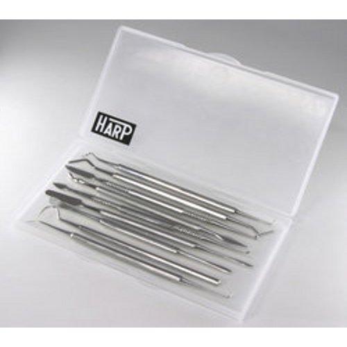 HARP(ハープ) ワックス用、銀粘土用工具セット 【NO.CW-SET】