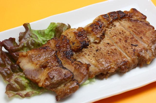 【直火焼き】安全飼育豚ロースの自家製味噌漬け