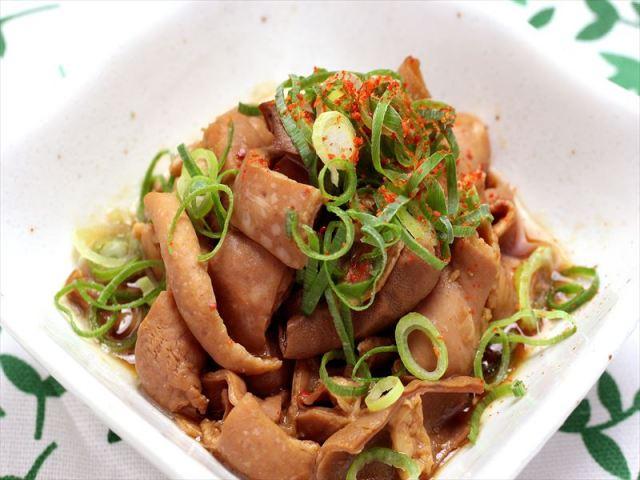 自家製味噌の豚もつ煮