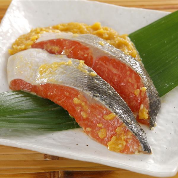 紅鮭の西京漬