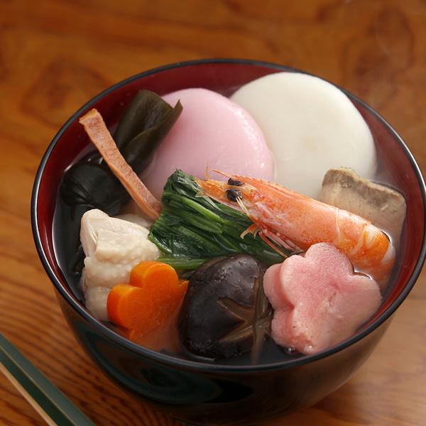 かば田のお雑煮※2016年12月25日より出荷いたします。
