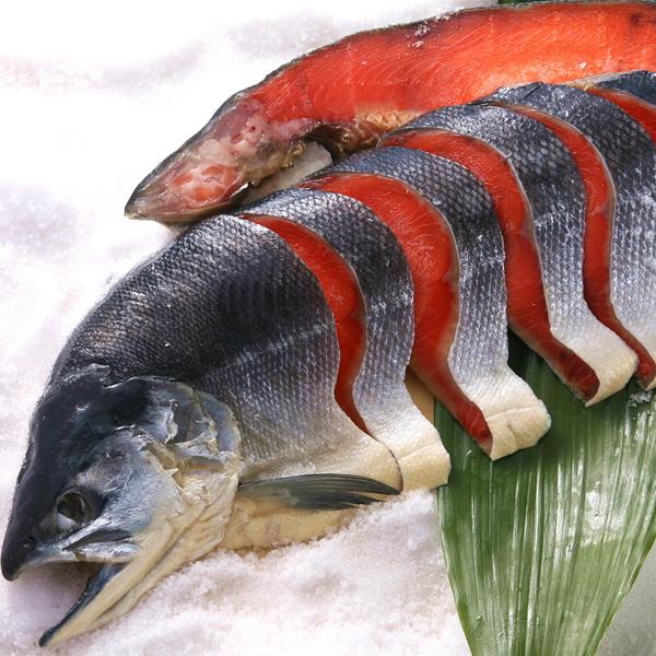 国産 塩紅鮭姿切り