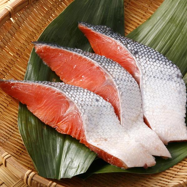 国産塩紅鮭切り身