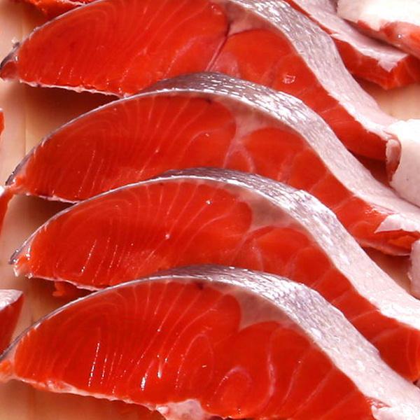 甘塩紅鮭の切身