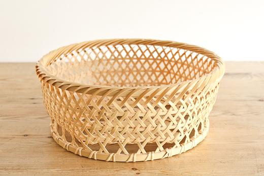 大分 白竹 椀かご