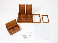 匠の内箱篭定SPセットC(ダイワ11リットルクーラー用)の構成部品です。