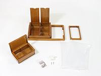 匠の内箱篭定SPセットA(ダイワ8リットルクーラー用)の構成部品です。