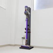 ダイソン掃除機専用スタンド=ダイ・ステーション 〜V8・V7対応(オプションヘッド用取り付け穴3)ホワイトウッド完売