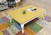 こたつテーブル[マリアン]ホワイト(タイル付天板)
