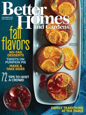 BETTER HOMES & GARDENS 年間購読