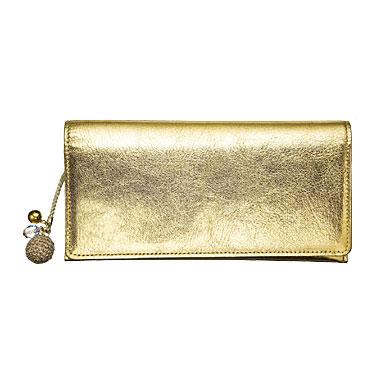 キラキラ財布(ゴールド)