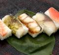 選べる蛎の葉寿司