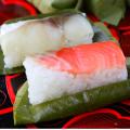 【お祝いに】昔ながらの 柿の葉ずし 今昔(こんじゃく)鯖・鮭 20個♪一度食べれば違いが分かる!