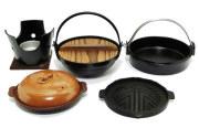 【懐石】<お得セット>匠の技 いろり鍋・陶板焼・グリル・コンロ・すき焼鍋