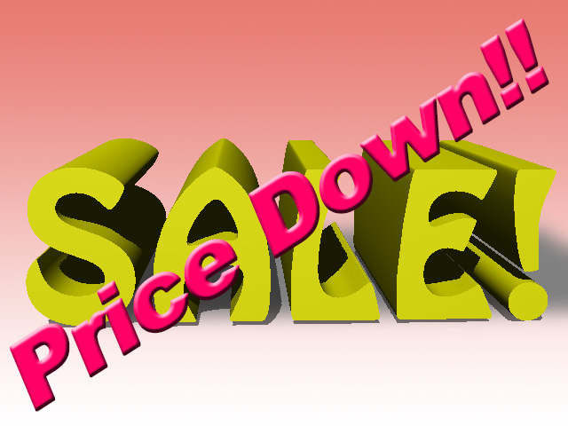 SALE! Price Down!!