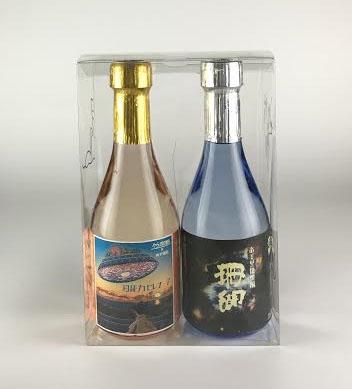 【加那・珊瑚30度300ml】クウチュウ戦オリジナルボトルセット【サイン・金箔入り】
