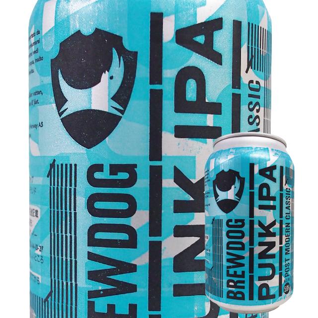 ブリュードック パンク IPA 330ml (缶)