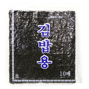 のり巻き用のり「10枚」1袋 ■韓国食品■ 0312
