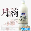【送料無料】ソウル月梅マッコリ1L×12本【1BOX】■韓国食品■ 0176-1