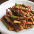 ◆冷蔵◆自家製ニンニクの芽キムチ500g■韓国食品■0249