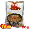 「眞漢」ネジャンスープ600g×20個【1BOX】■韓国食品■ 1066-1